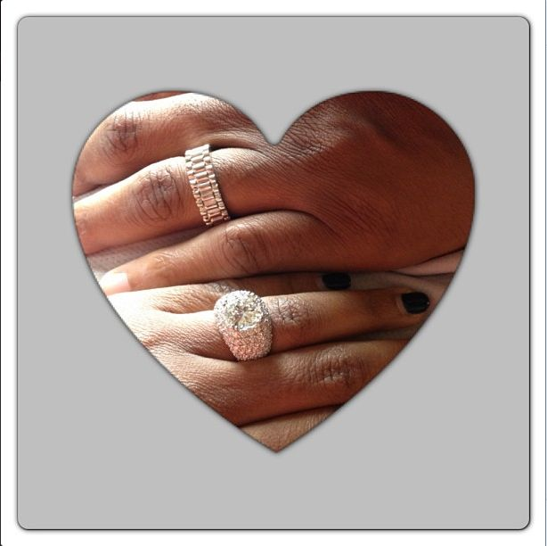 A Ring For Her Amp A Ring For HimGuess Which Celebrity Couple Both Put A Ring On It