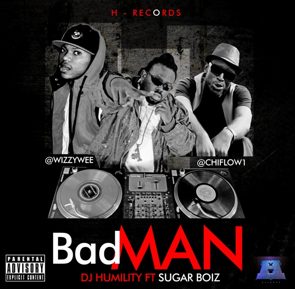 DJ HUMILITY (BADMAN ART CD COVER) 2