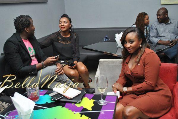 Desmond Elliot, Chioma Chukwuka-Akpotha & Ini Edo