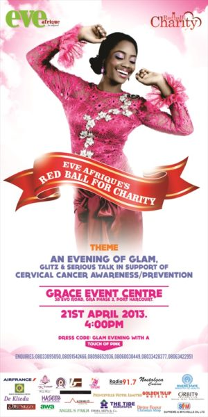 Eve Afrique's Red Ball for Charity