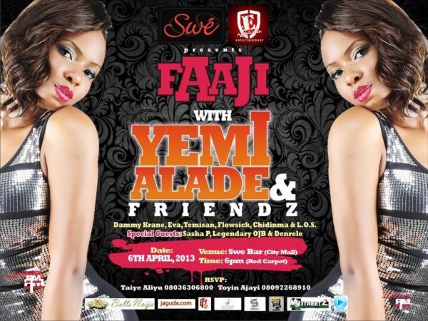 Faaji with Yemi Alade and Friends [Poster]