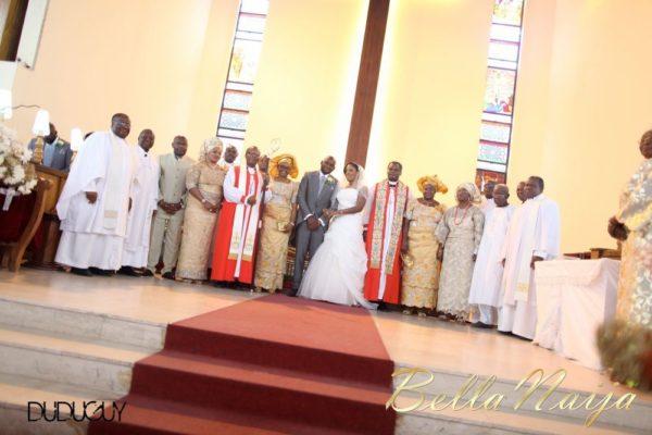 Jennifer Okoye & Yemi Adebonojo White Wedding - April 2013 - BellaNaija Weddings314