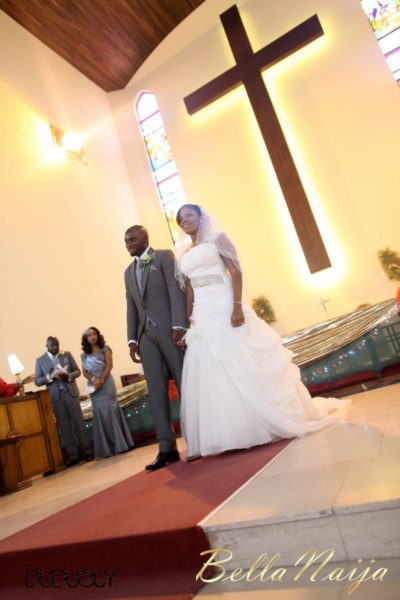 Jennifer Okoye & Yemi Adebonojo White Wedding - April 2013 - BellaNaija Weddings316