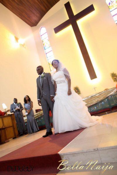 Jennifer Okoye & Yemi Adebonojo White Wedding - April 2013 - BellaNaija Weddings316
