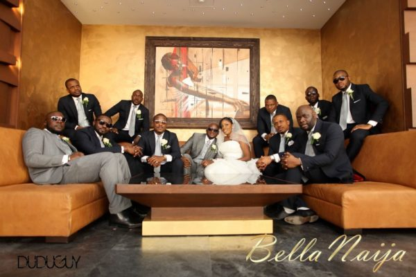 Jennifer Okoye & Yemi Adebonojo White Wedding - April 2013 - BellaNaija Weddings354