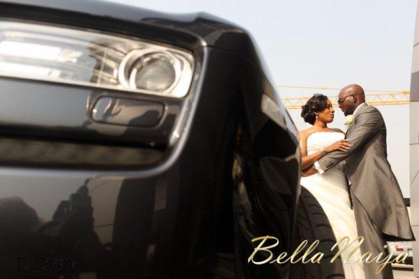 Jennifer Okoye & Yemi Adebonojo White Wedding - April 2013 - BellaNaija Weddings392