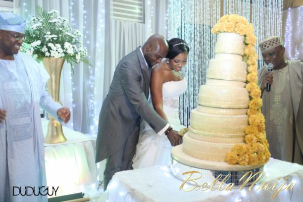 Jennifer Okoye & Yemi Adebonojo White Wedding - April 2013 - BellaNaija Weddings416