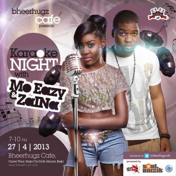 Karaoke Night with Zaina & Mo Eazy - BellaNaija - April2013