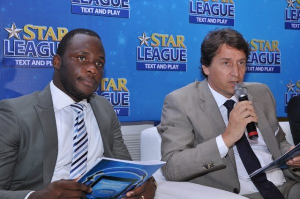 L-R Obabiyi Fagade, Brand Manager Star and Mr. Walter Drenth, Marketing Director NB