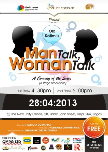 Man Talk Woman Talk - BellaNaija - April2013