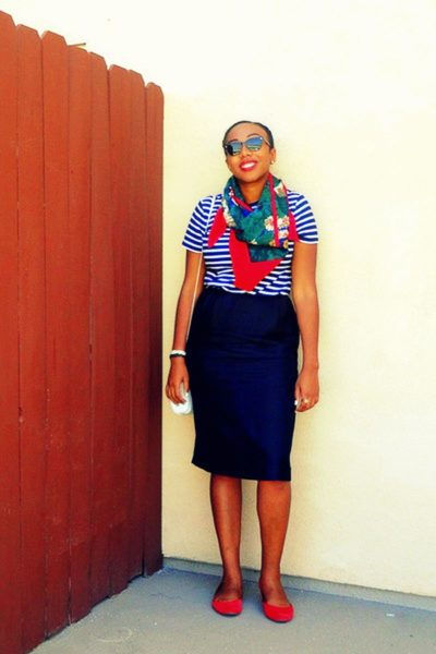 Mixing Prints - BellaNaija - April2013