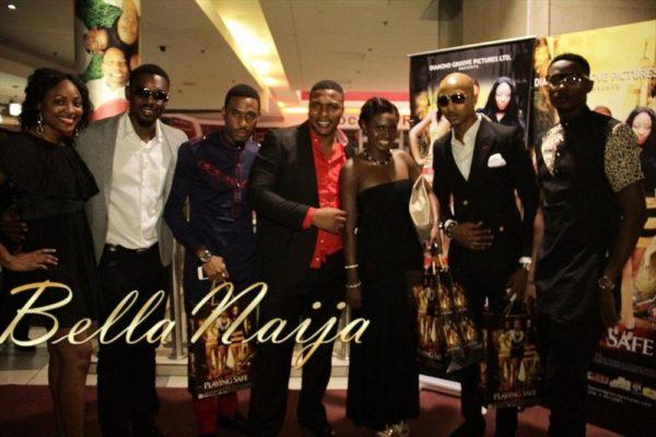 Mary Lazarus, Eddie Watson, Chris Okagbue, Elvis Chucks, Matha Ankomah, IK Ogbonna & Sexy Steel