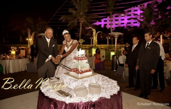 Prisca Amaihe & Emeka Okwara Dubai Wedding - April 2013 - BellaNaija123