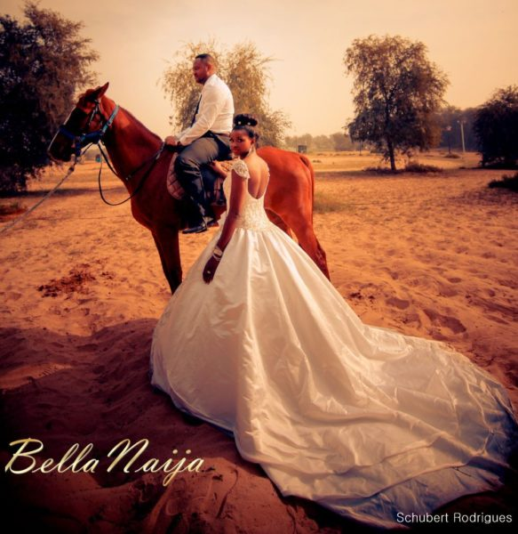 Prisca Amaihe & Emeka Okwara Dubai Wedding - Photoshoot - April 2013 - BellaNaija013