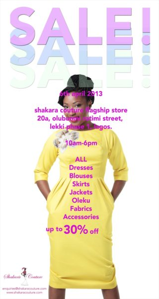 Shakara Couture Sale