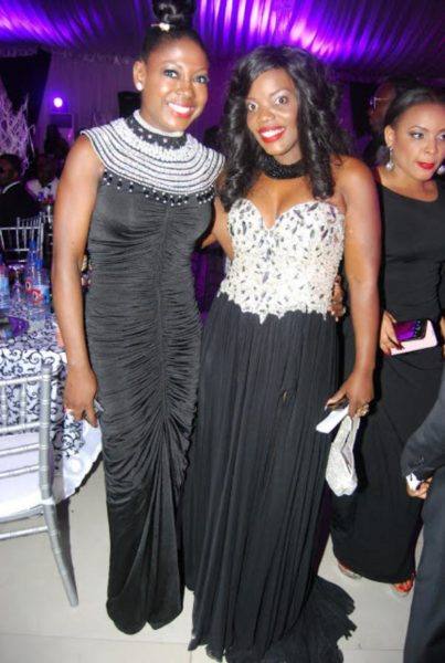 Susan Peters & Empress Njamah - Encomium Black And White Ball - BellaNaija