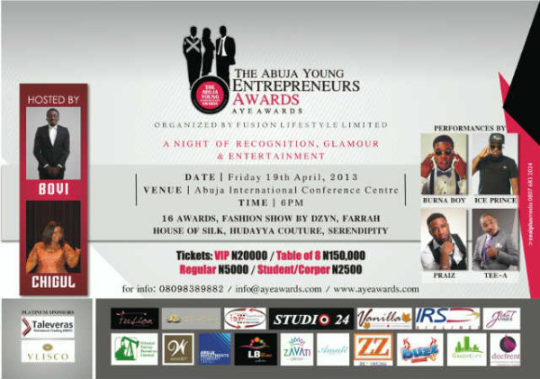 The Abuja Young Entrepreneurs Awards - BellaNaija