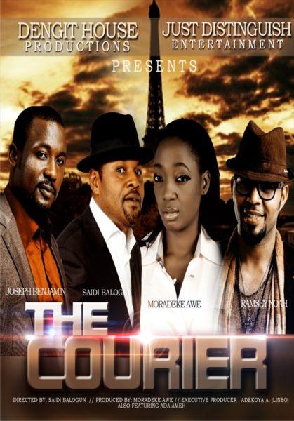 The Courier Movie Poster - BellaNaija Movies & TV