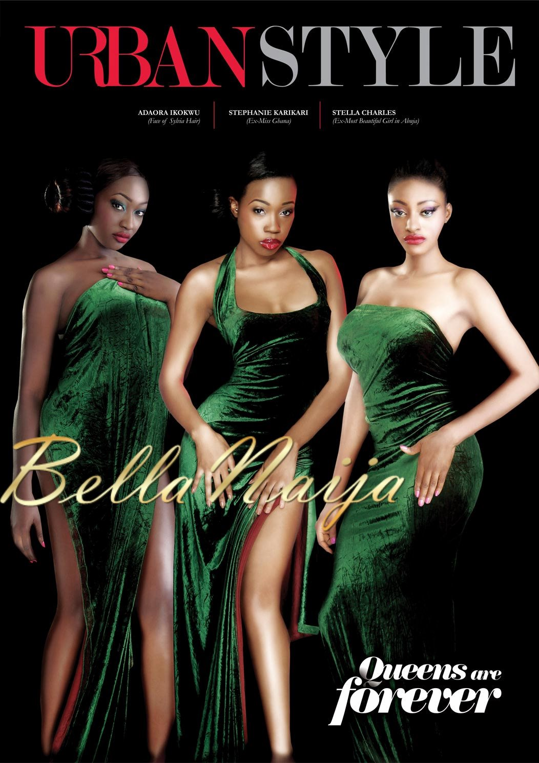 The Beauty The Vixen Dabota Lawson Venita Akpofure Sizzle In Black On The Cover Of