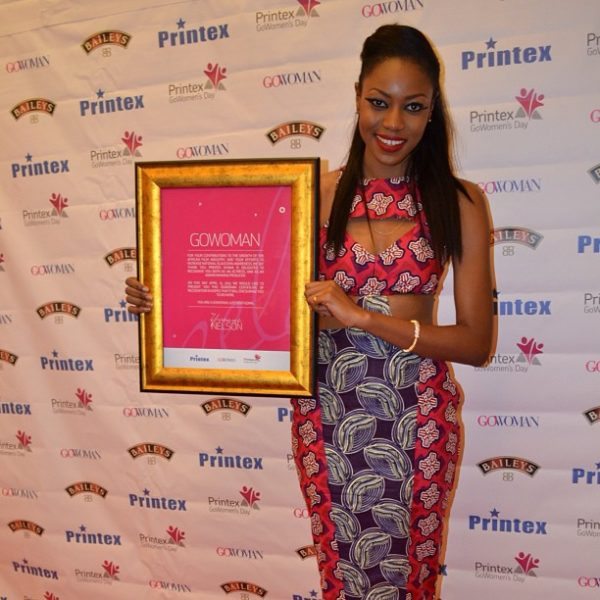 Yvonne Nelson GoWoman Printex Ghana - April 2013 - BellaNaija Weddings001