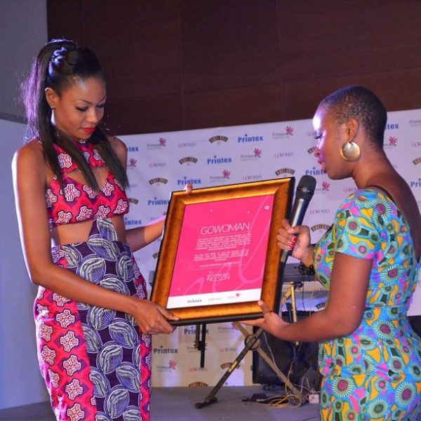 Yvonne Nelson GoWoman Printex Ghana - April 2013 - BellaNaija Weddings003
