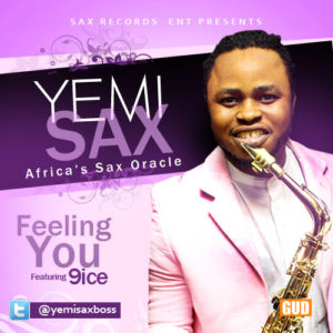 yemisax - feeling You Artcover