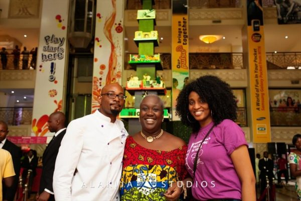 BN Exclusive_ Official Photos from Cakes by Tosan's The Tallest Cake in Africa Project in Lagos - May 2013 - BellaNaija044