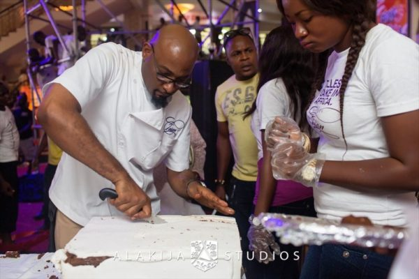 BN Exclusive_ Official Photos from Cakes by Tosan's The Tallest Cake in Africa Project in Lagos - May 2013 - BellaNaija085