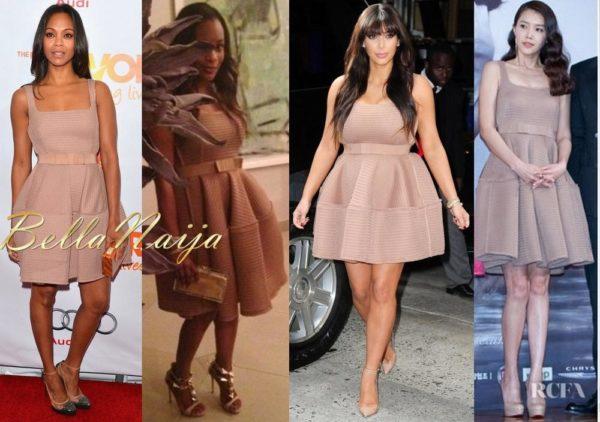 BN Pick Your Fave - Zoe Saldana, Karen Koshoni, Kim Kardashian & Chae Jeong Ah - May 2013