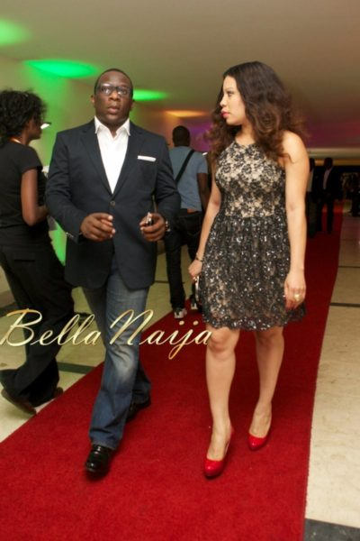 Lanre Nzeribe & Monalisa Chinda