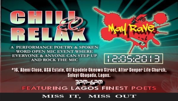Chill & Relax May Rave - Events This Weekend - BellaNaija