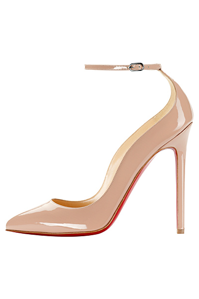 Christian Louboutin Halte Patent Leather Pointed Toe Pumps