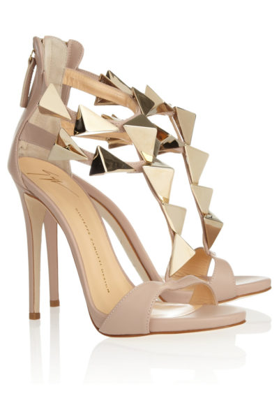 Giuseppe Zanotti Studded Leather Sandals - BN Pick Your Fave - May 2013 - BellaNaija