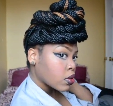 How to Style Box Braids - BellaNaija - May2013003