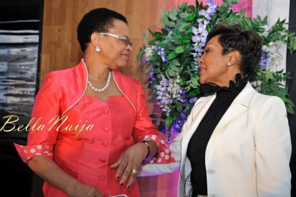Graca Machel & Felicia Suttle