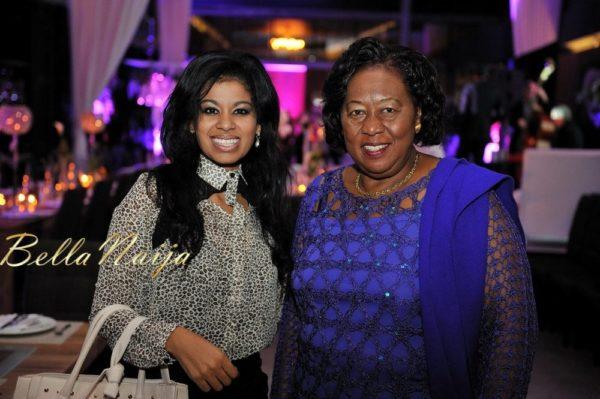 Julie Gichuru & Senator Dr Kittony at the Gala Dinner