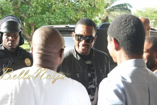 Johnny Gill, Bill Bellamy, Immodesty Blaize, Aldo Zilli arrie in Nigeria for Butterscotch Evenings - May 2013 - BellaNaija005