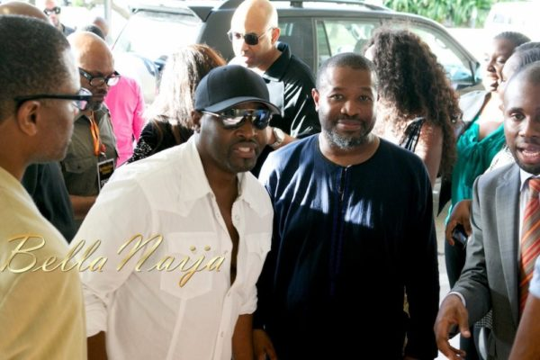 Johnny Gill, Bill Bellamy, Immodesty Blaize, Aldo Zilli arrie in Nigeria for Butterscotch Evenings - May 2013 - BellaNaija006