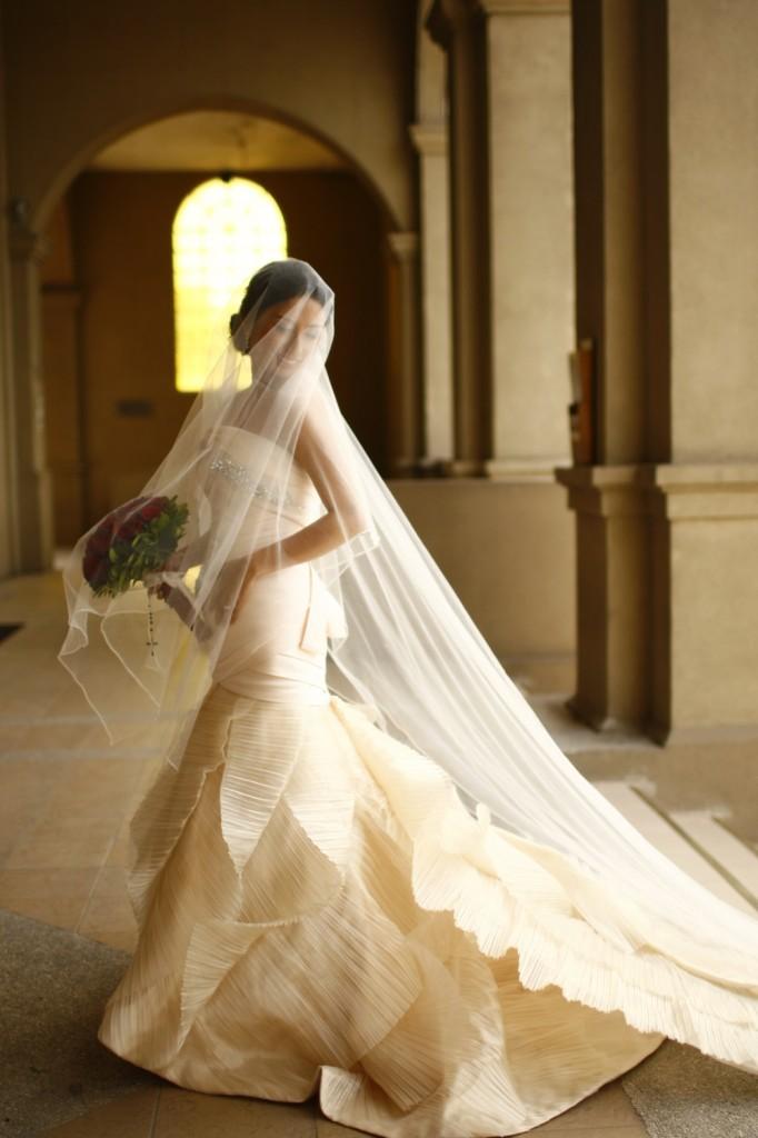 Real Bride in Mermaid Francis Libiran