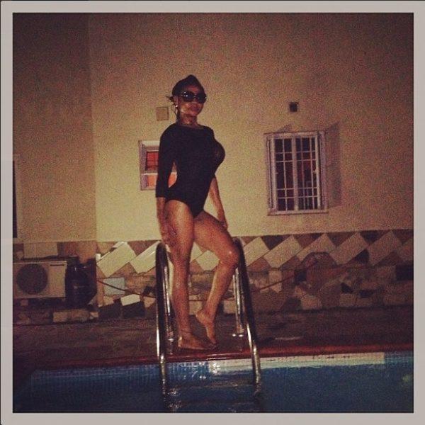 Karen Igho's Bikini - May 2013 - BellaNaija