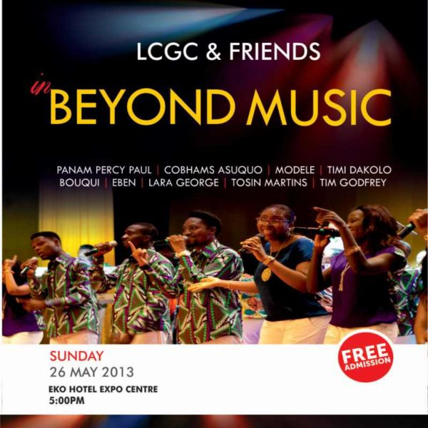 LCG & Friends in Beyond the Music - BellaNaija - May2013