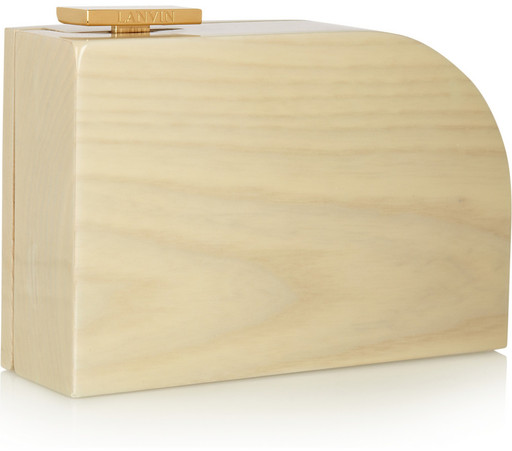 Lanvin Piano Box Clutch