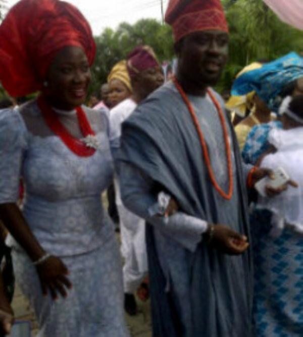 Nollywood Actress Mercy Johnson & Her Husband Prince