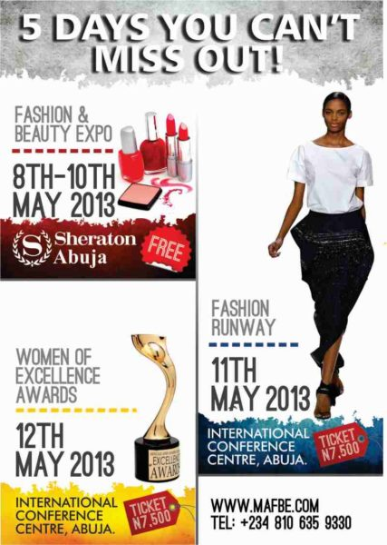 Montage Africa Fashion and Beauty Expo - BellaNaija - May2013