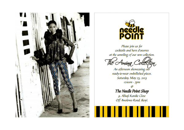 Needle Point - The Amina Collection