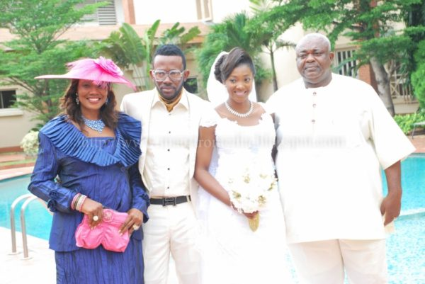 Nigerian Music Star J Martins' Intimate Wedding in Lagos - June 2013 - BellaNaija002