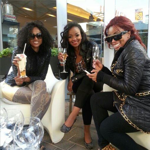 Nonhle Barbz & Khanyi Mbau