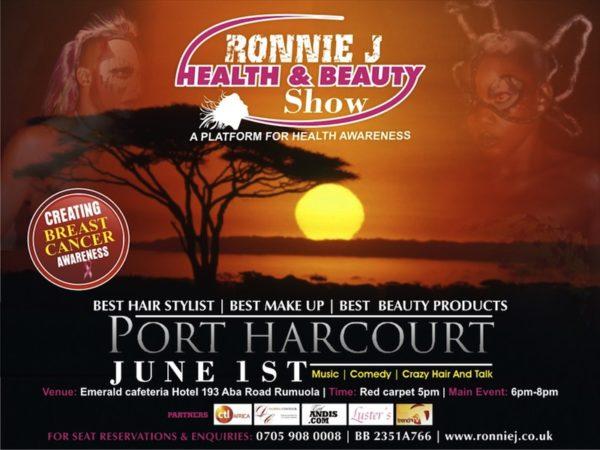 Ronnie J Beauty & Fashion Show