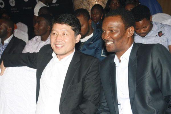 Brovo Kim (Managing Director, Samsung Electronics West Africa) & Kayode Oluwasona (Managing Director, Rosabel Leo Burnett)