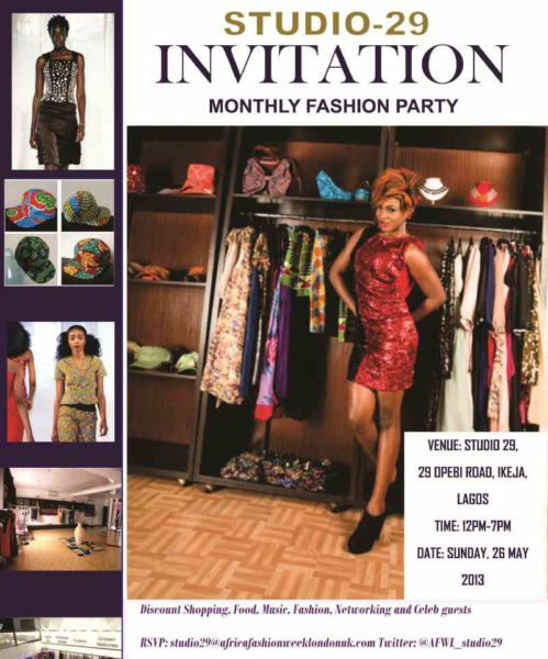 Studio 29 Monthly Fashion Party - BellaNaija - May2013002